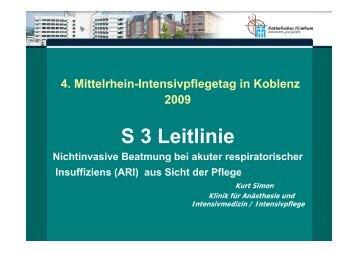 (ARI) - aus Sicht der Pflege - Katholisches Klinikum Koblenz