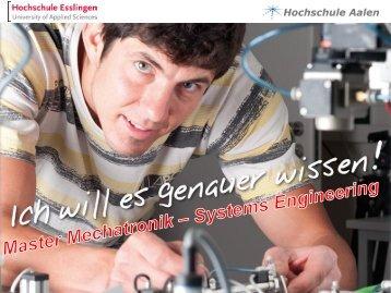 Studiengangsinformationen - Hochschule Aalen