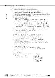 1 Axiomatische Definition von Wahrscheinlichkeit - Ernst Klett Verlag