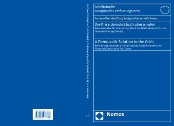 Die Krise demokratisch überwinden A Democratic ... - WHI-Berlin