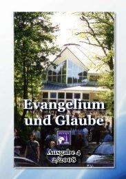 öffnen - Evangelium und Glaube Hauptseite