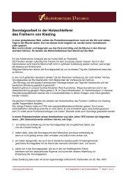 Sonntagsarbeit in der Holzschleiferei des Freiherrn von Kiesling