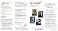 Konzertprogramm 2011 - Musikland Tirol