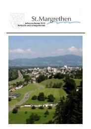 Jahresrechnung_2010 [PDF, 2.24 MB] - St. Margrethen