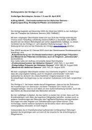 Stellungnahme der Hirnliga e.V. zum Vorläufigen Berichtsplan ...