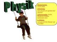 V18 - Physik