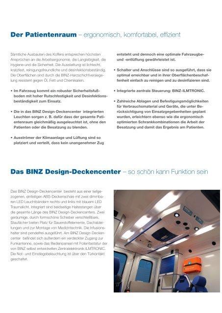 DER RTW KOFFER - BINZ Ambulance