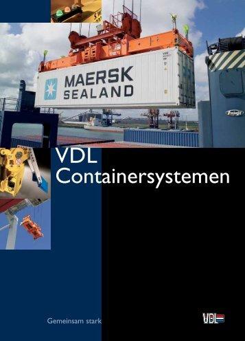 Algemeine Prospekte Spreader - VDL Containersystemen