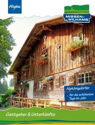 Gastgeber & Unterkünfte - Missen-Wilhams