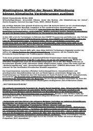 Washingtons Waffen der Neuen Weltordnung köeneu ... - Chemtrail.de