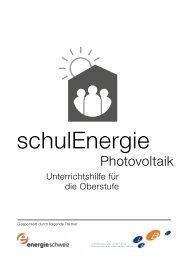 Photovoltaik - Lehrerinnen und Lehrer Bern LEBE