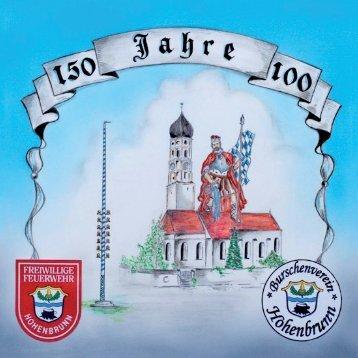Festschrift vom 150jährigen Jubiläum der FF Hohenbrunn (32MB)
