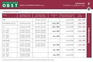 Formate und Preise 2013 - Flüssiges Obst