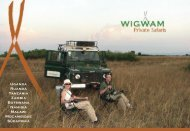 WIGWAM Private Safaris
