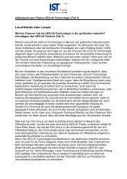 Grundlagen der LED-UV-Technik (Teil 3) als PDF-Datei - IST METZ