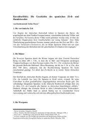 Kurzüberblick: Die Geschichte des spanischen Zivil- und ... - mmmm