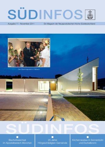 Ausgabe 11 · November 2011 - Neuapostolische Kirche ...