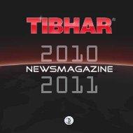Tibhar Katalog 2010 - Tischtennis.biz
