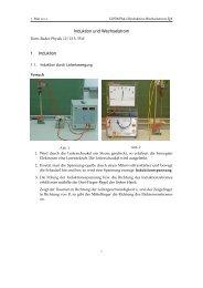 Induktion und Wechselstrom 1. Induktion