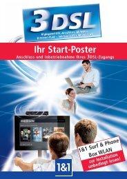 Installationsanweisung 1&1 DSL Surf & Phone