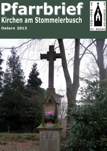 PB 1_2013 neu Endversion - St-martinus-stommeln.de