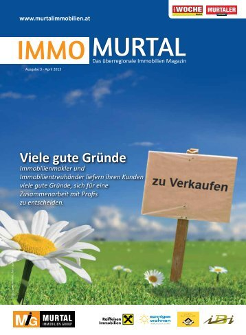 Immomurtal 05/2013 - Immobilien Josef Suppan GmbH