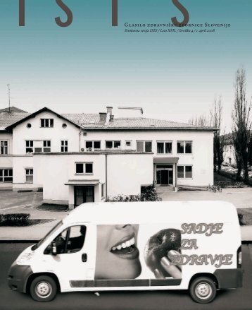 ISIS April 08 01.indd - Zdravniška zbornica Slovenije