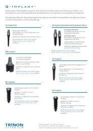 Q-Implant ® - Trinon