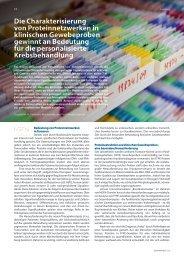 Bericht im GENOMXPRESS 2012 - Institut für Allgemeine Pathologie ...