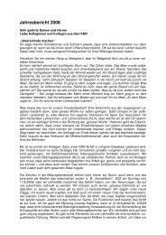 Jahresbericht des Präsidenten - KMV St. Gallen