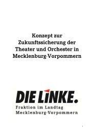 Konzept zur Zukunftssicherung der Theater und Orchester in ...