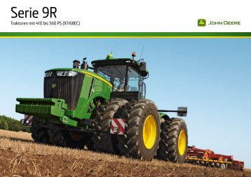 John Deere 9R Broschüre - Lagerhaus