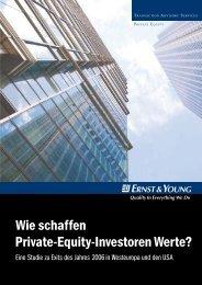 Wie schaffen Private-Equity-Investoren Werte? - ab ovo, inc