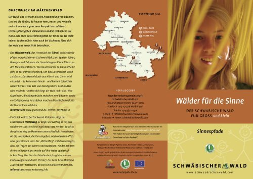 Wälder für die Sinne - Naturpark Schwäbisch Fränkischer Wald