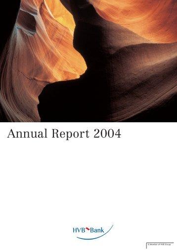 Annual report 2004 (PDF, 1069 kB) - Unicredit Bank