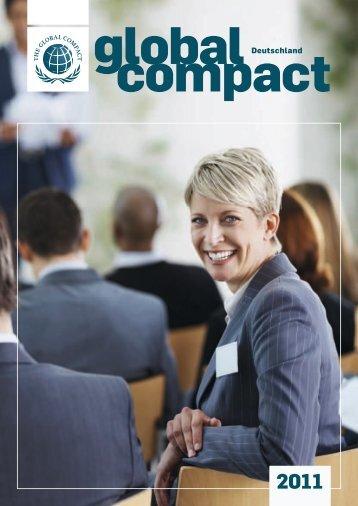 Global Compact Deutschland Jahrbuch 2011 - GC Yearbook