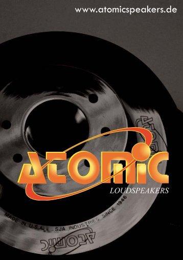 ATOMIC Prospekt - Atomicspeakers.de