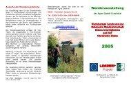 Wanderausstellung LEADER+ Projekt - Agrar GmbH Crawinkel