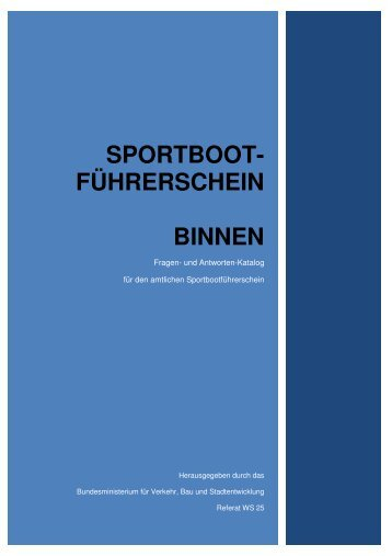 Fragenkatalog BINNEN - MYC Germersheim