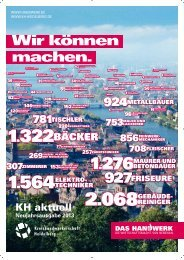 Nr. 70 (Februar 2013) - Kreishandwerkerschaft Heidelberg