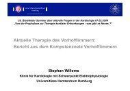 Aktuelle Therapie des Vorhofflimmern: Bericht aus ... - theHeart.de