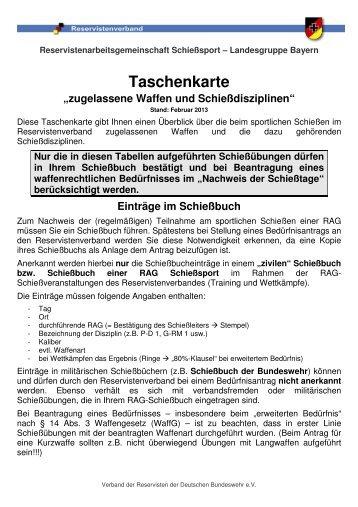 Taschenkarte Disziplinen 2013-02