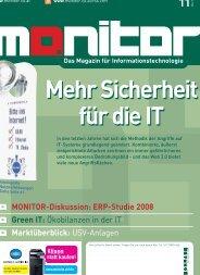Die komplette MONITOR-Ausgabe 11/2008 können Sie hier ...