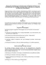 Satzung über die Erhebung von Kostenersatz und Gebühren - Uelzen