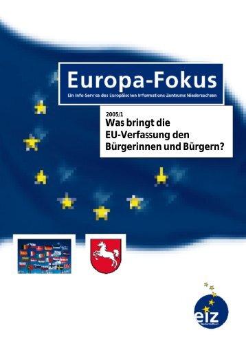 Was bringt die EU-Verfassung den Bürgerinnen und Bürgern? - EIZ ...