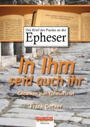 Frank Decker - Entdeckungen für (D)ein neues Leben