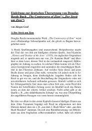 Der Streit um Zion - Die persönliche Seite von Jürgen Graf