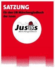 SATZUNG - Jusos Mönchengladbach