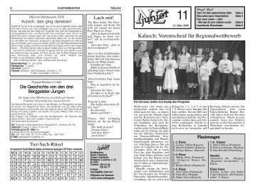 NZ Junior 2008/11 - Neue Zeitung
