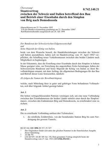 Staatsvertrag - Museums-Gesellschaft Grenchen